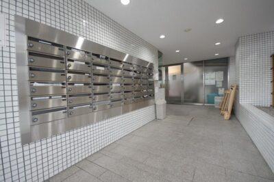 陽輪台西新宿 メールBOX