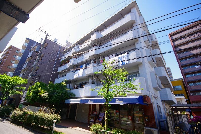 グリーンキャピタル笹塚_外観と共用部 (1)
