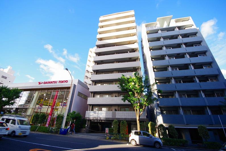 クレッセント渋谷神泉_外観 (1)