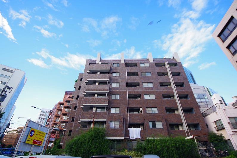 東急ドエル・アルス渋谷八幡坂_外観 (1)