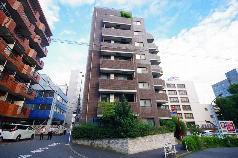 東急ドエル・アルス渋谷八幡坂_外観 (6)