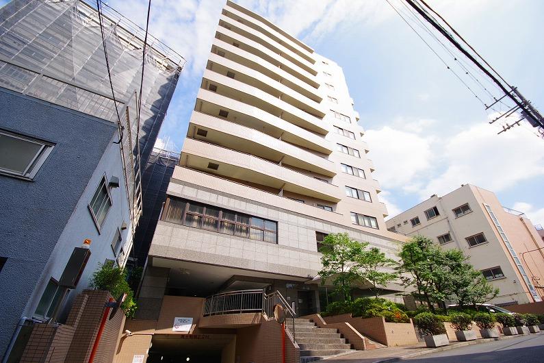 アルス笹塚_外観と共用部 (1)