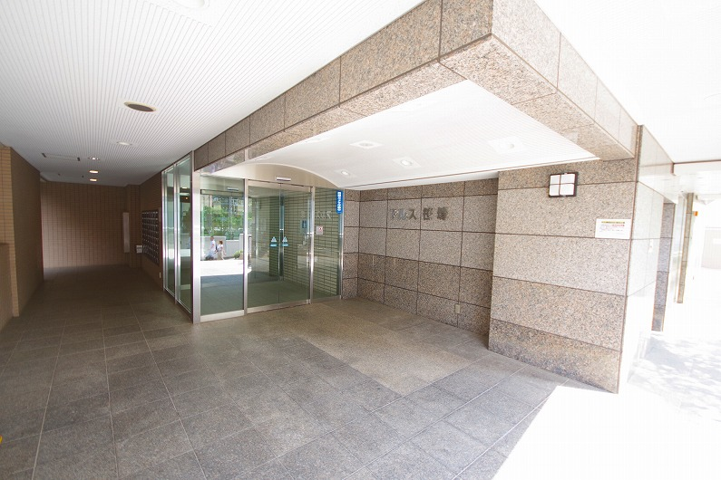 アルス笹塚_外観と共用部 (4)