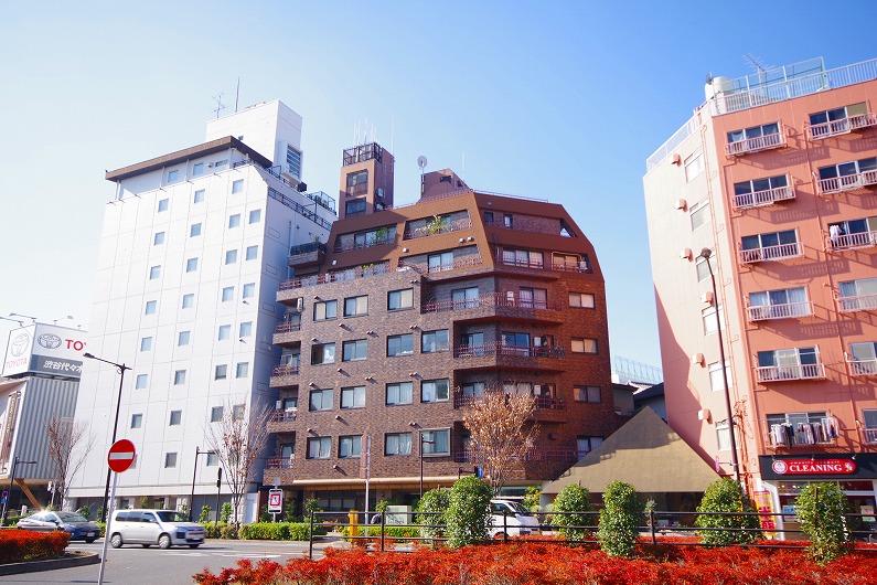 元代々木桜苑マンション_外観 (1)